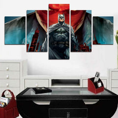 B-man - Red Hood 5 Piece Canvas LIMITED EDITION - The Nerd Cave - 3