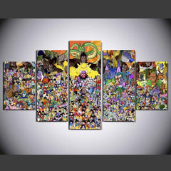Dragon Ball Universe - 5 Piece Canvas