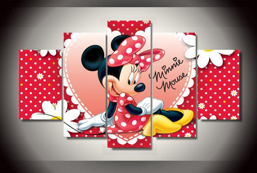 Minnie 2 - 5 Piece Canvas LIMITED EDITION - The Nerd Cave