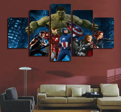 Avengers 5 Piece Canvas LIMITED EDITION