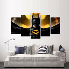 B-Man - Michael Keaton 5 Piece Canvas LIMITED EDITION