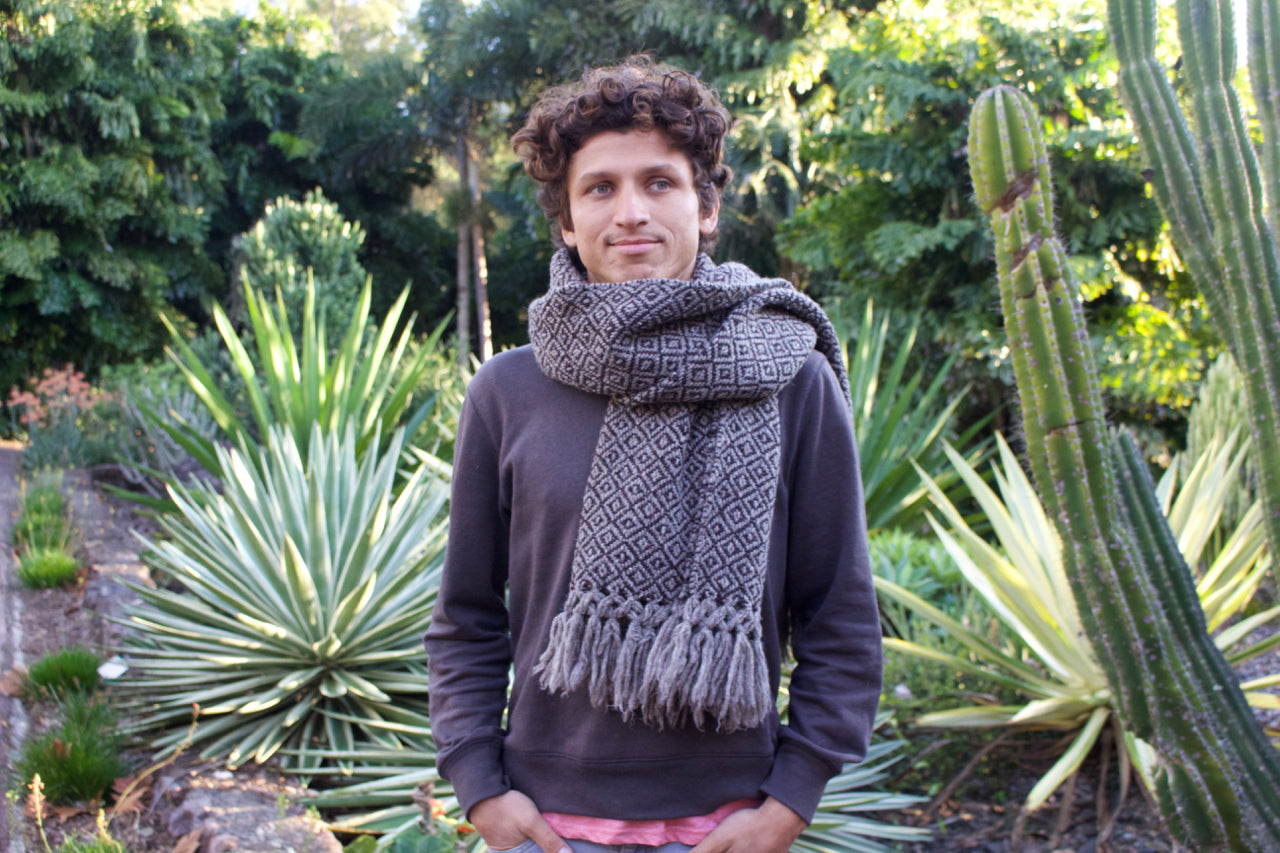 Just In Time For Winter - Tierras Altas Shawls!