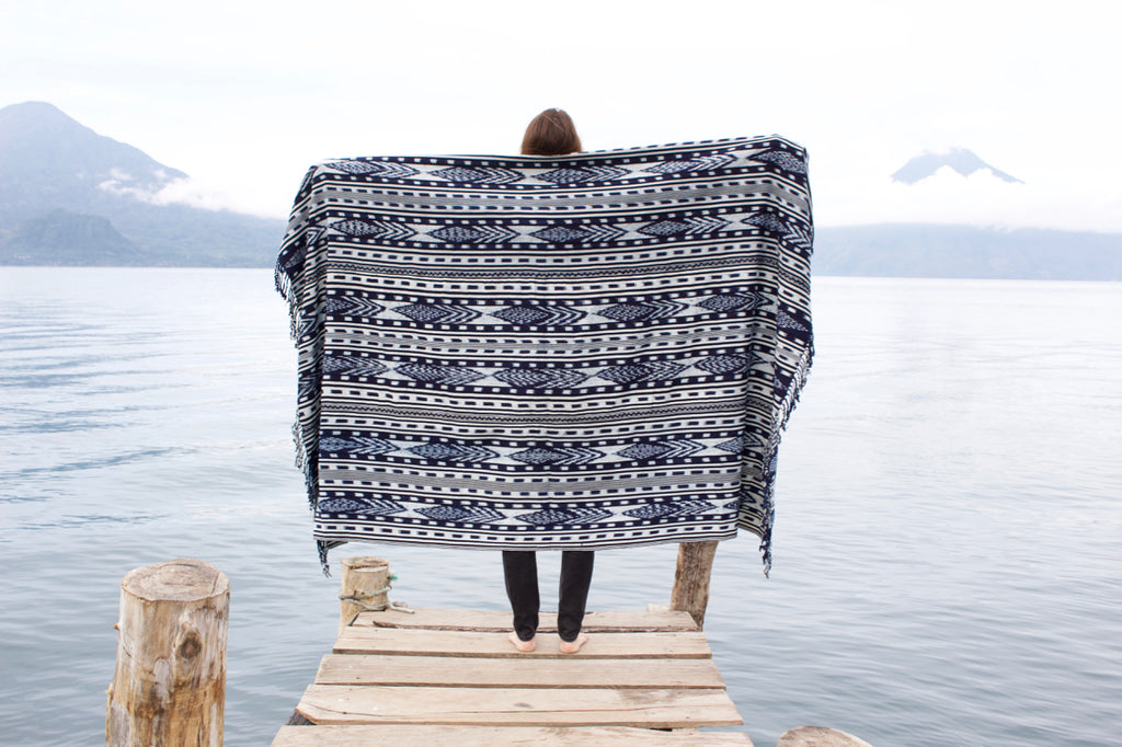 cielo-collective-indigo-ikat-throw