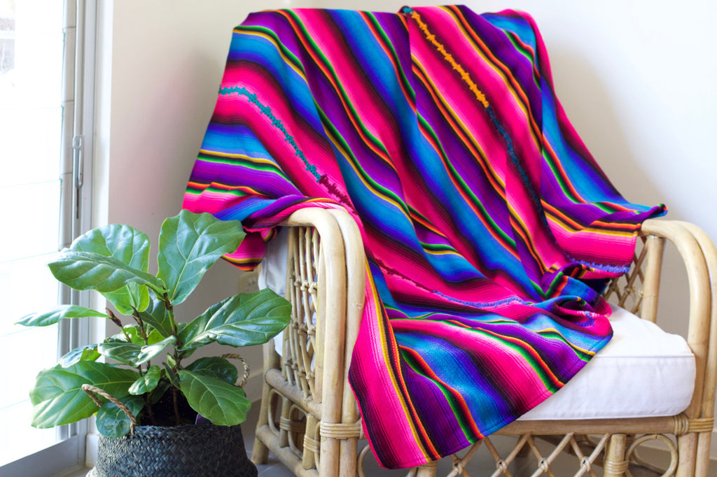 Rainbow Throw Cielo Collective