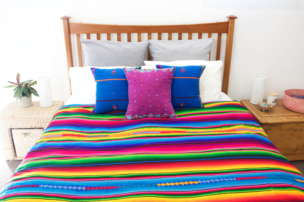 cielo collective rainbow throw