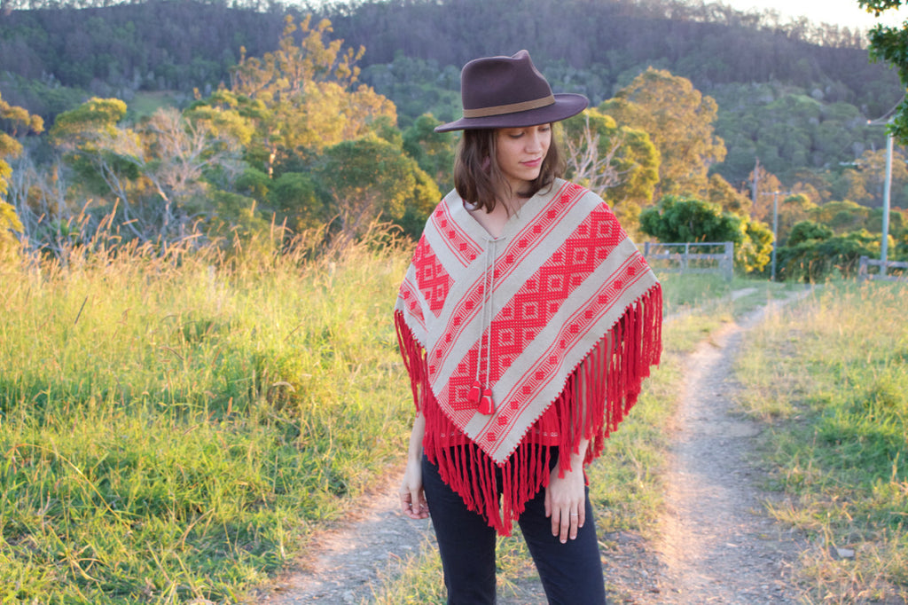 berta poncho cielo collective montana collection