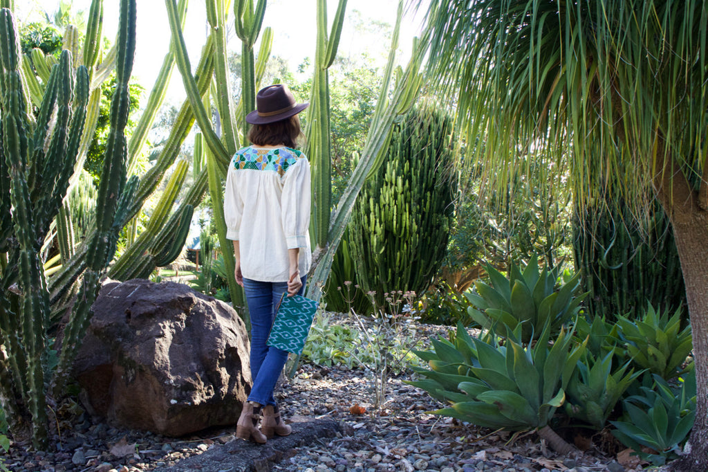 cielo collective vicente blouse oaxaca