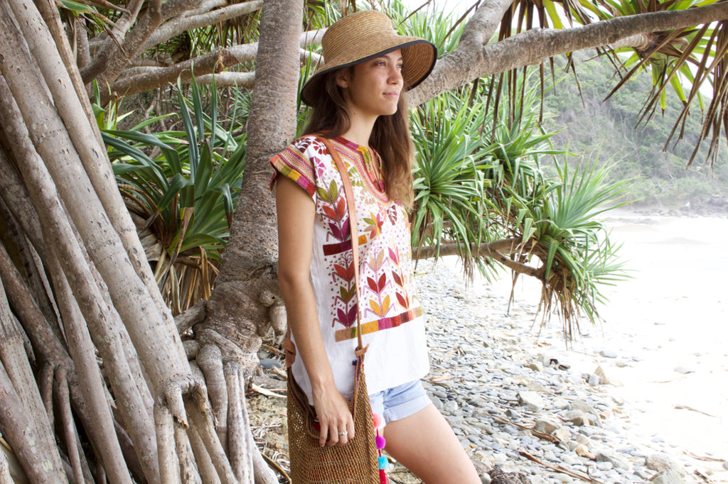 the Chamula Blouse Cielo Collective