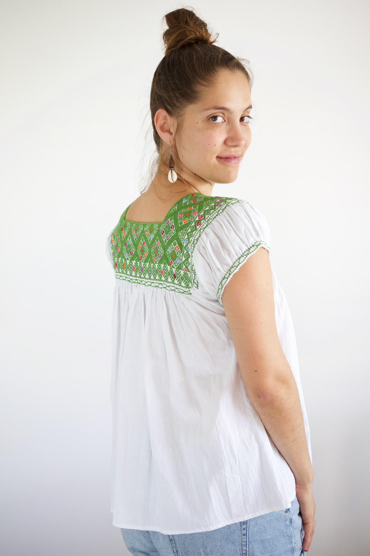 Andres Blouse - Green