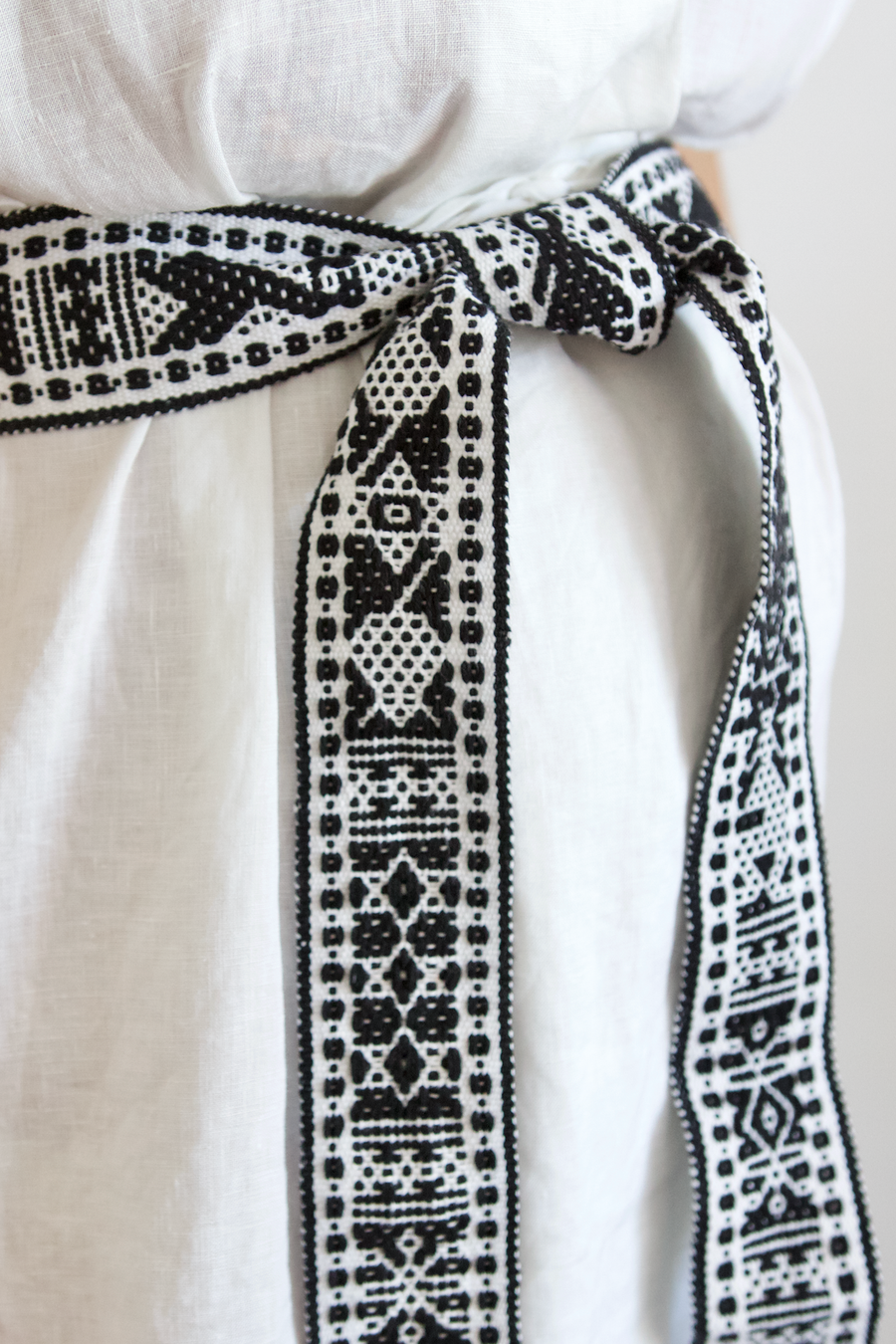 Berta Belt - Black & White