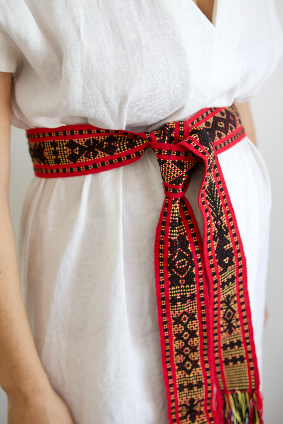 Berta Belt - Red