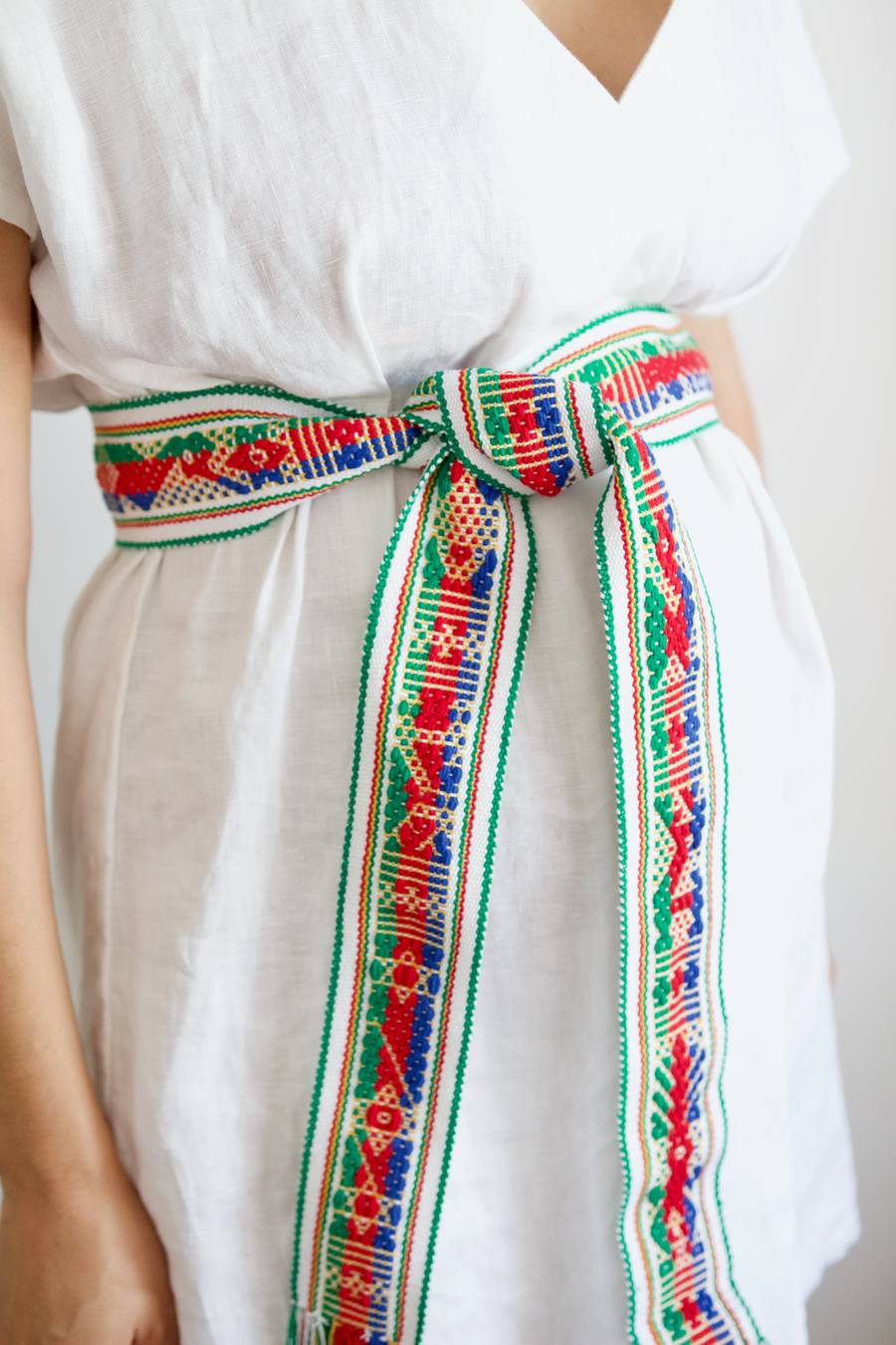 Berta Belt - Green, Blue & Red