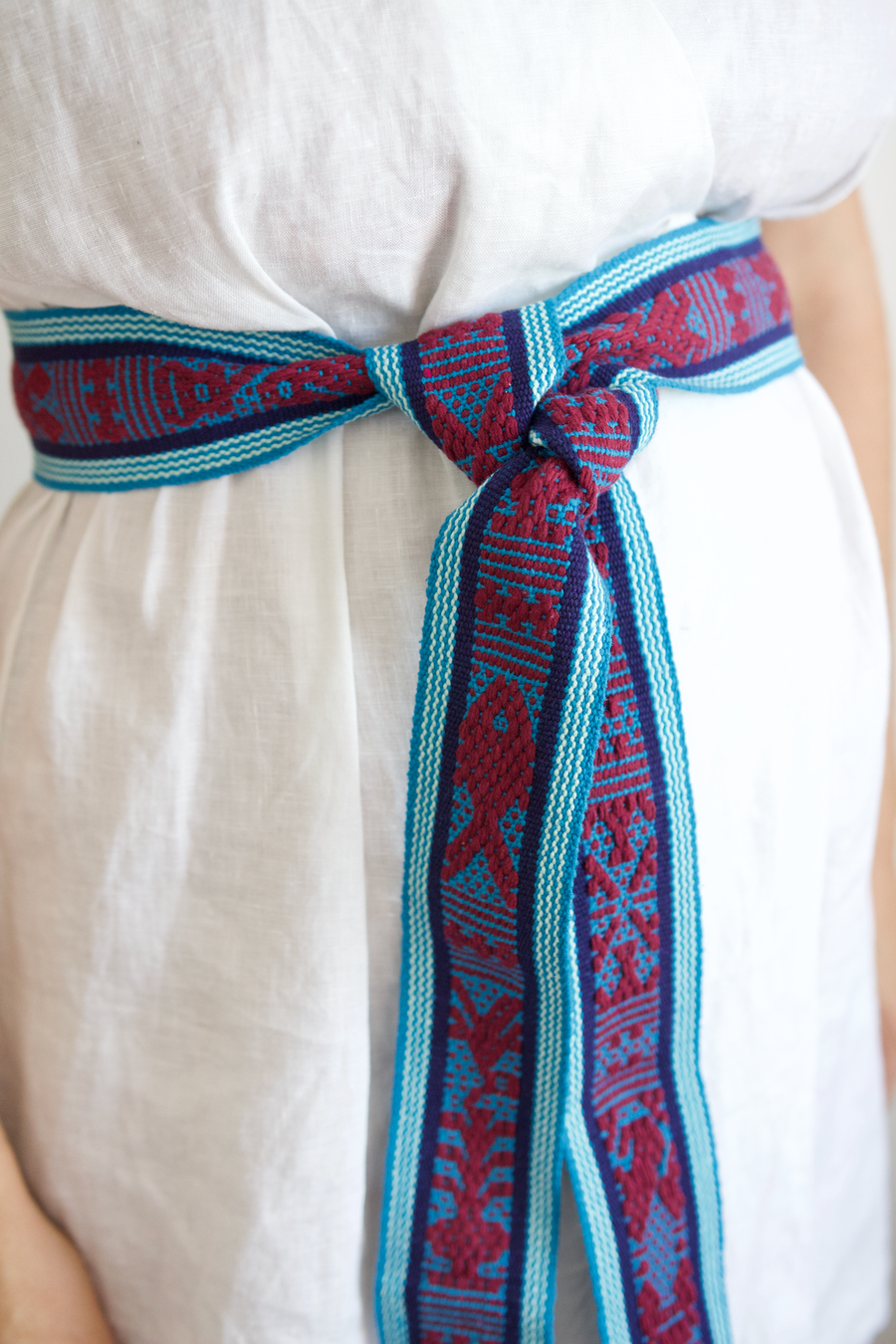 Berta Belt - Blue & Purple