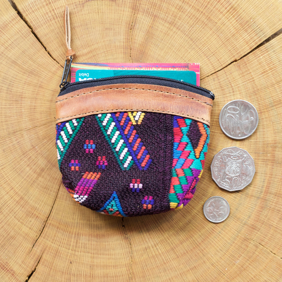 Pana Coin Pouch 32  Coin Pouch Multicolour - Cielo Collective handmade with tradition creativity and integrity