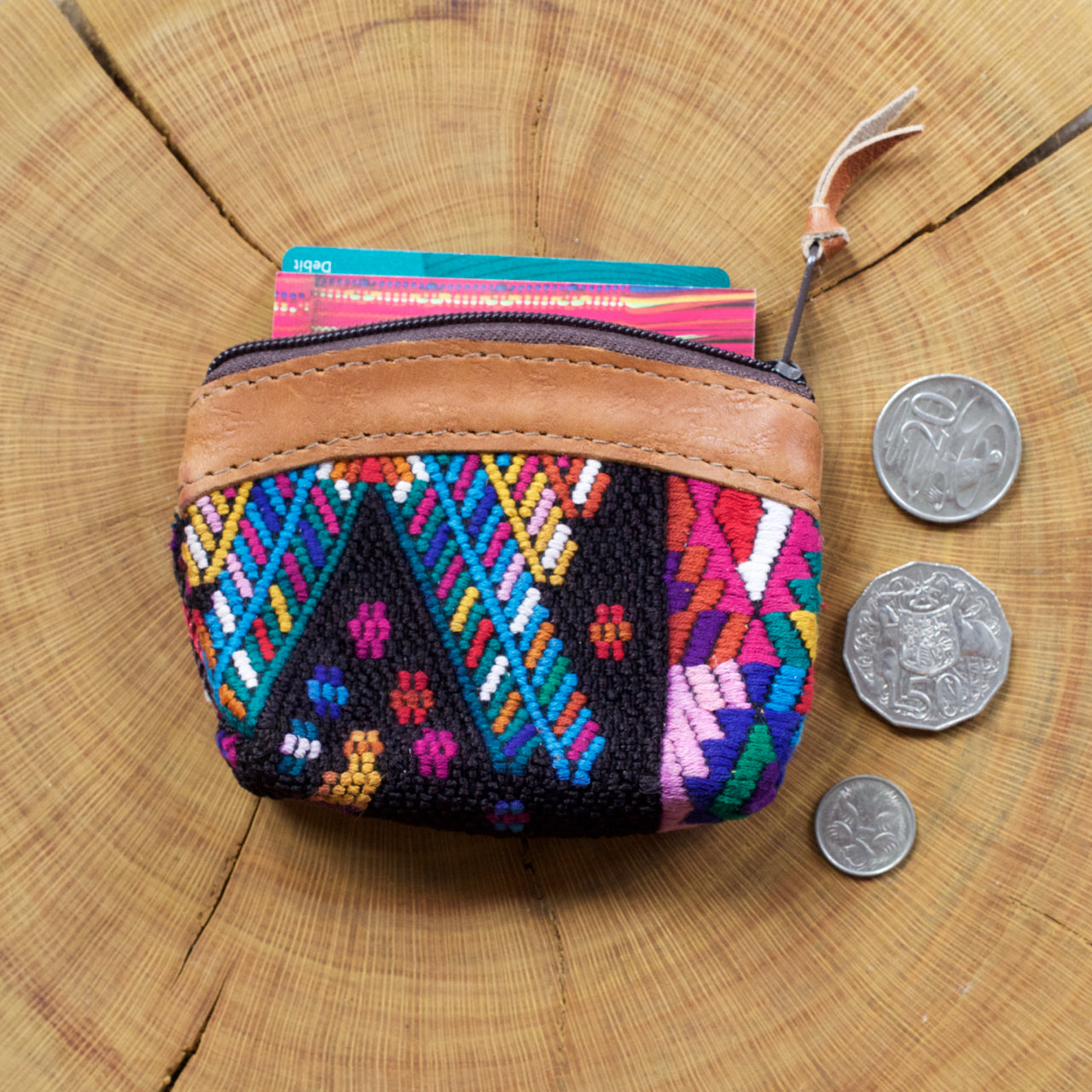 Pana Coin Pouch 25  Coin Pouch Multicolour - Cielo Collective handmade with tradition creativity and integrity