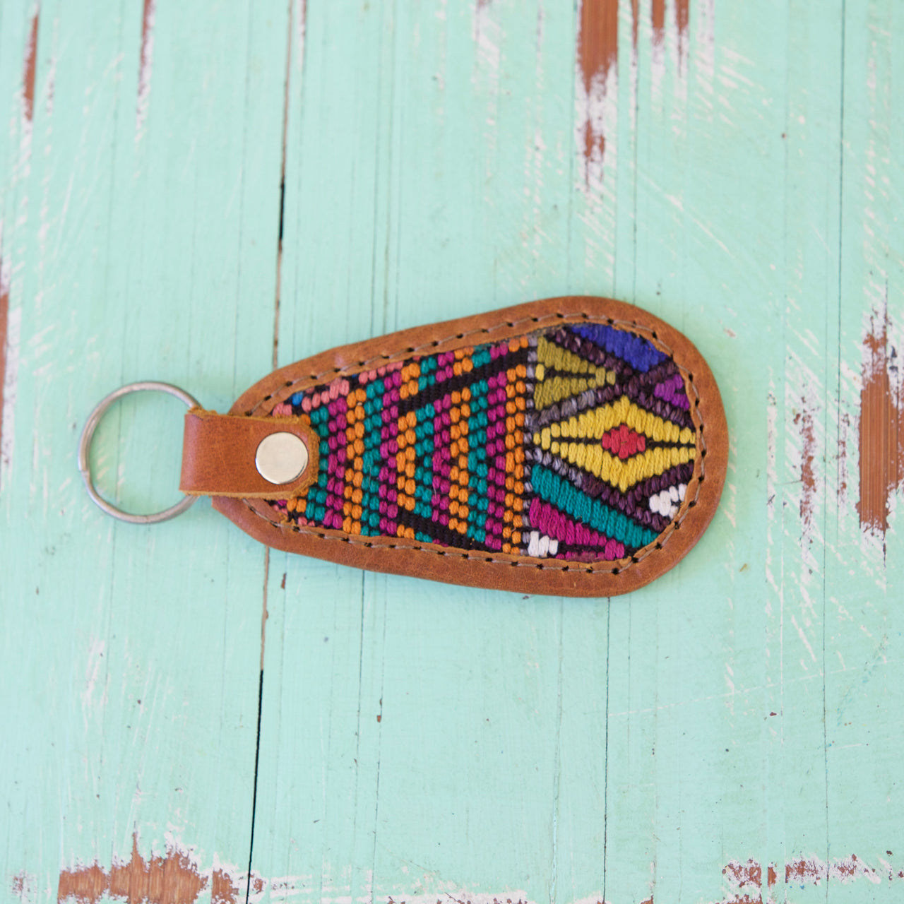Cielo Key Ring 34  Key Ring Multicolour - Cielo Collective handmade Mexico Guatemala