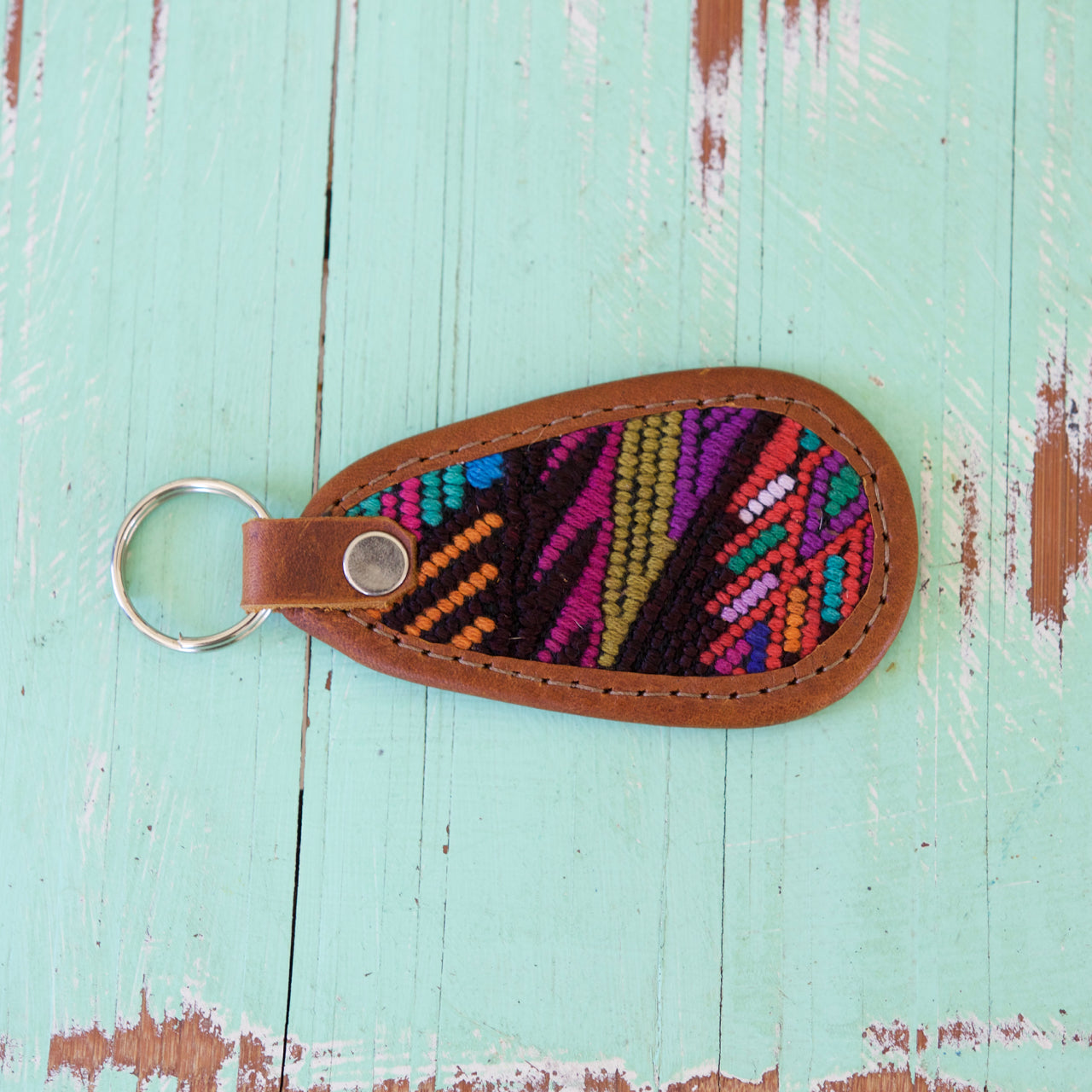 Cielo Key Ring 37  Key Ring Multicolour - Cielo Collective handmade Mexico Guatemala