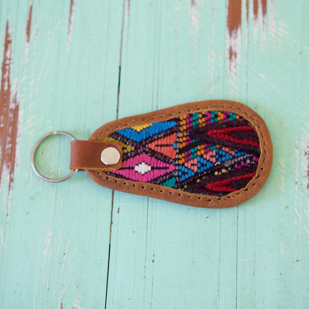 Cielo Key Ring 50  Key Ring Rainbow - Cielo Collective handmade Mexico Guatemala