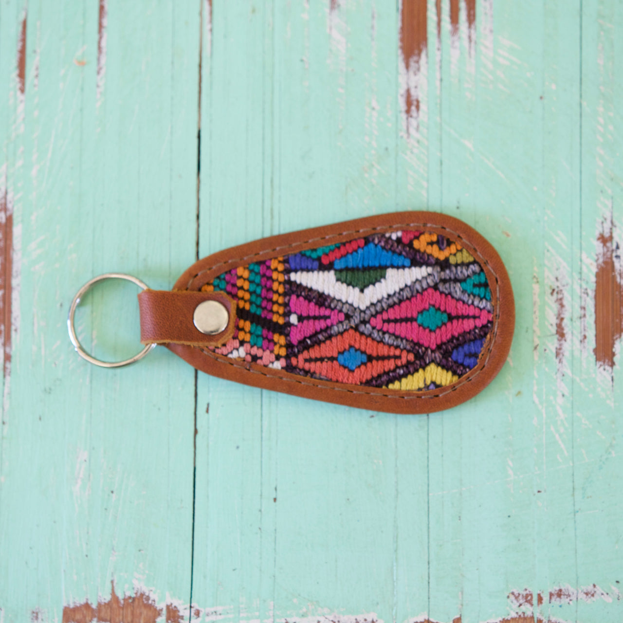 Cielo Key Ring 51  Key Ring Multicolour - Cielo Collective handmade Mexico Guatemala