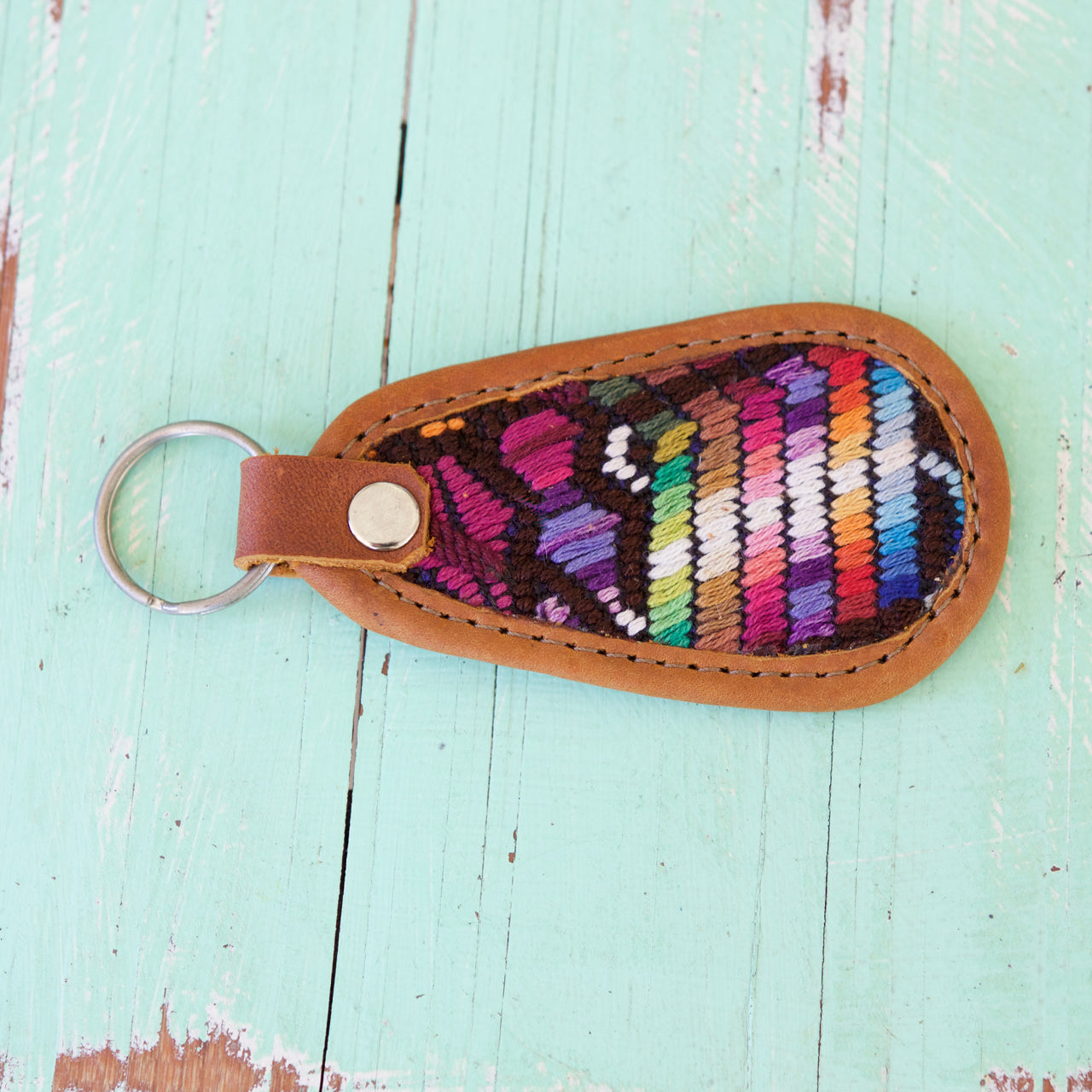 Cielo Key Ring 28  Key Ring Multicolour - Cielo Collective handmade Mexico Guatemala