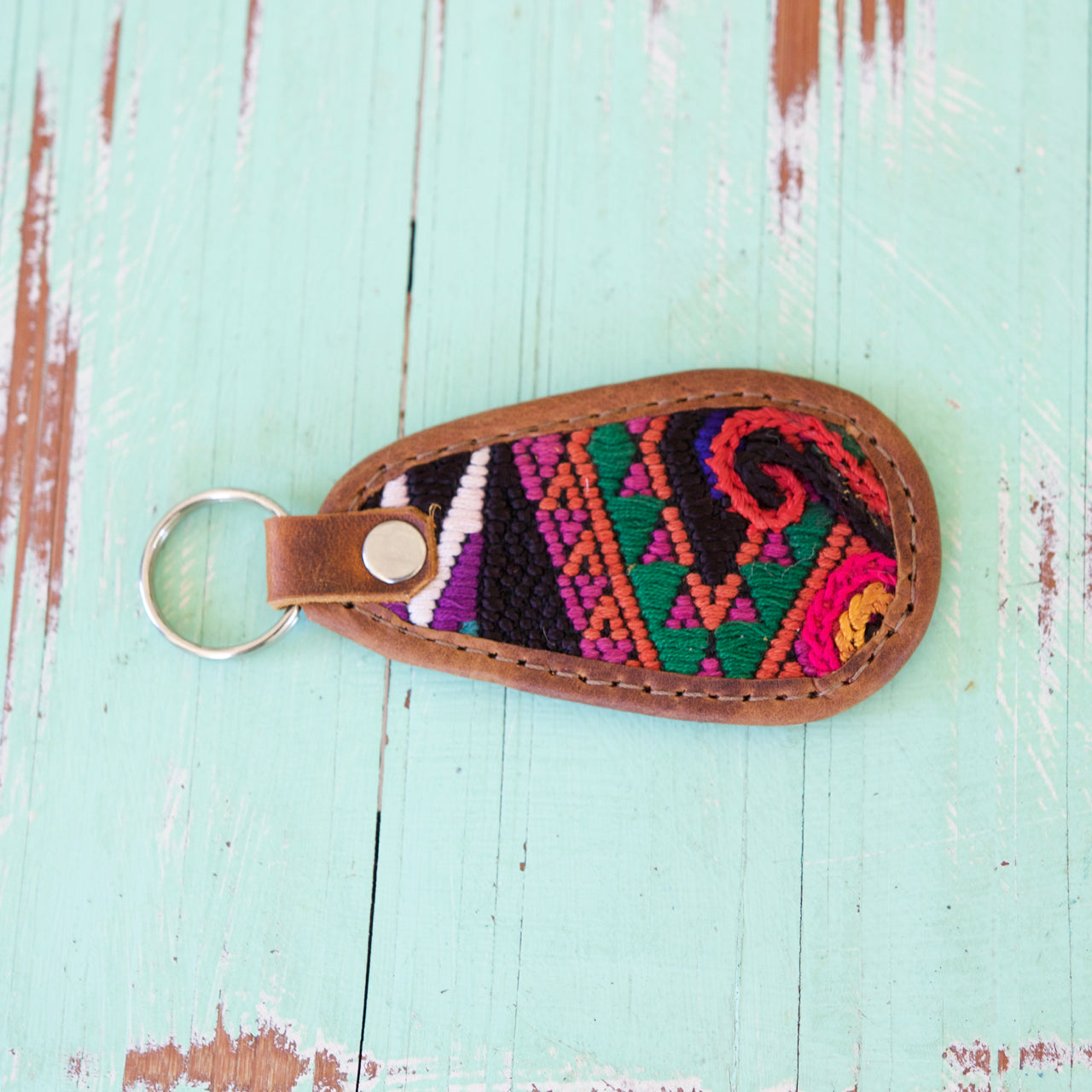 Cielo Key Ring 31  Key Ring Multicolour - Cielo Collective handmade Mexico Guatemala