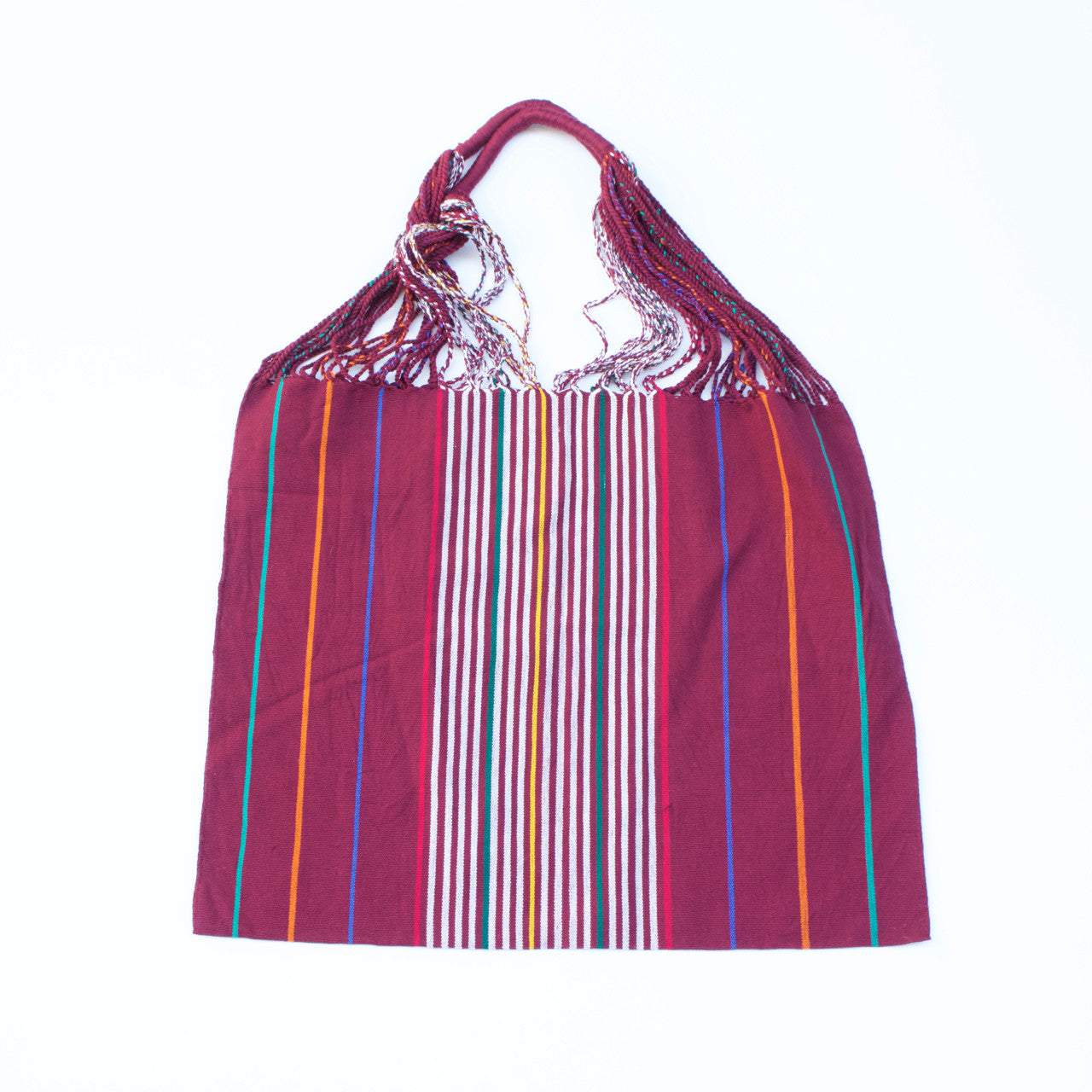 Raya Shoulder Bag  Shoulder Bag Burgundy - Cielo Collective handmade with tradition creativity and integrity