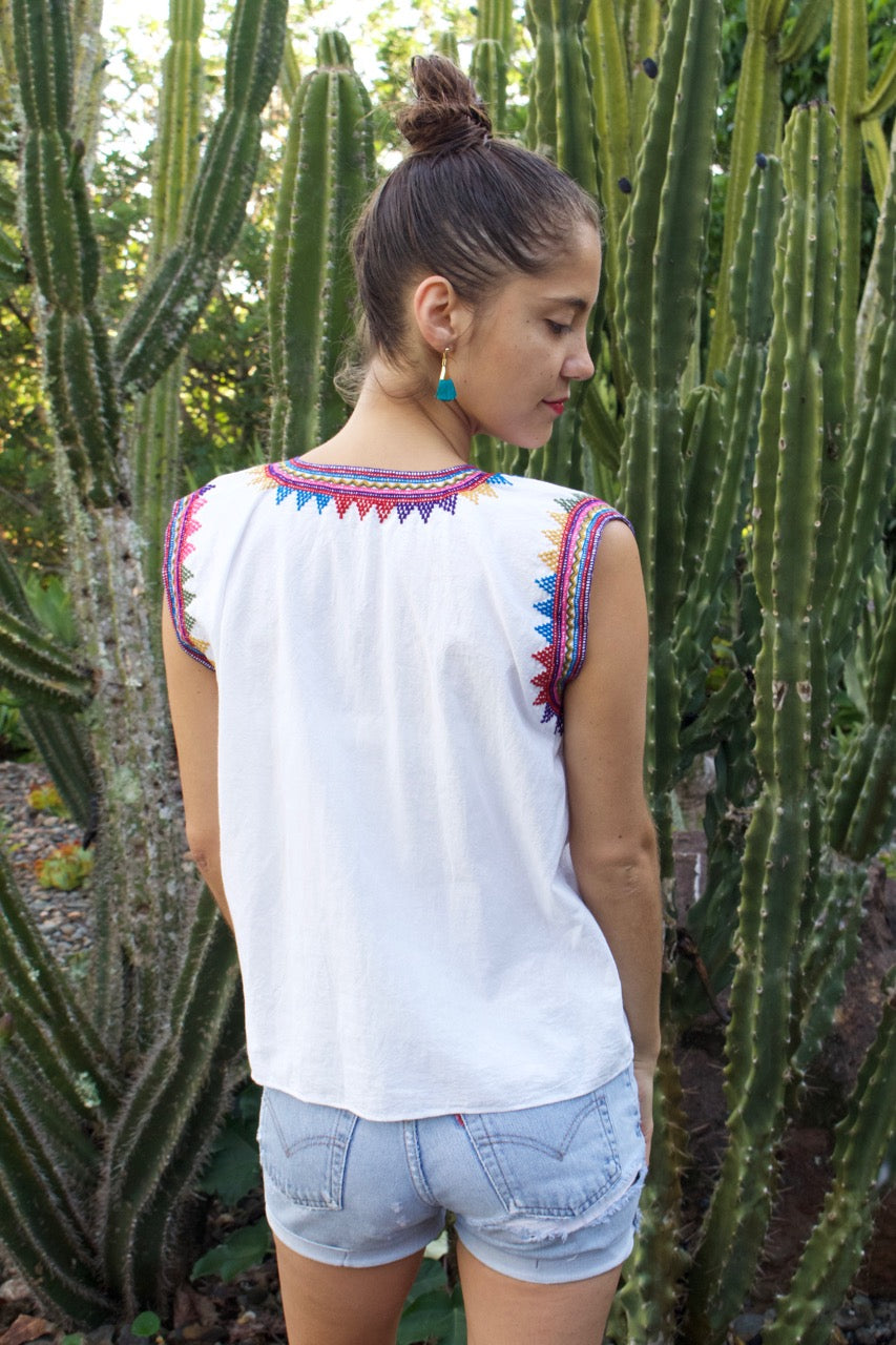 Rayos Sleeveless Blouse