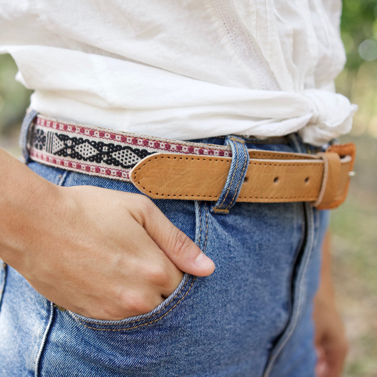 Santo Tomas Belt - Size 32 No. 08