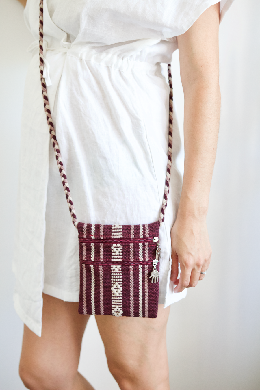 Santo Bag - Burgundy - Small