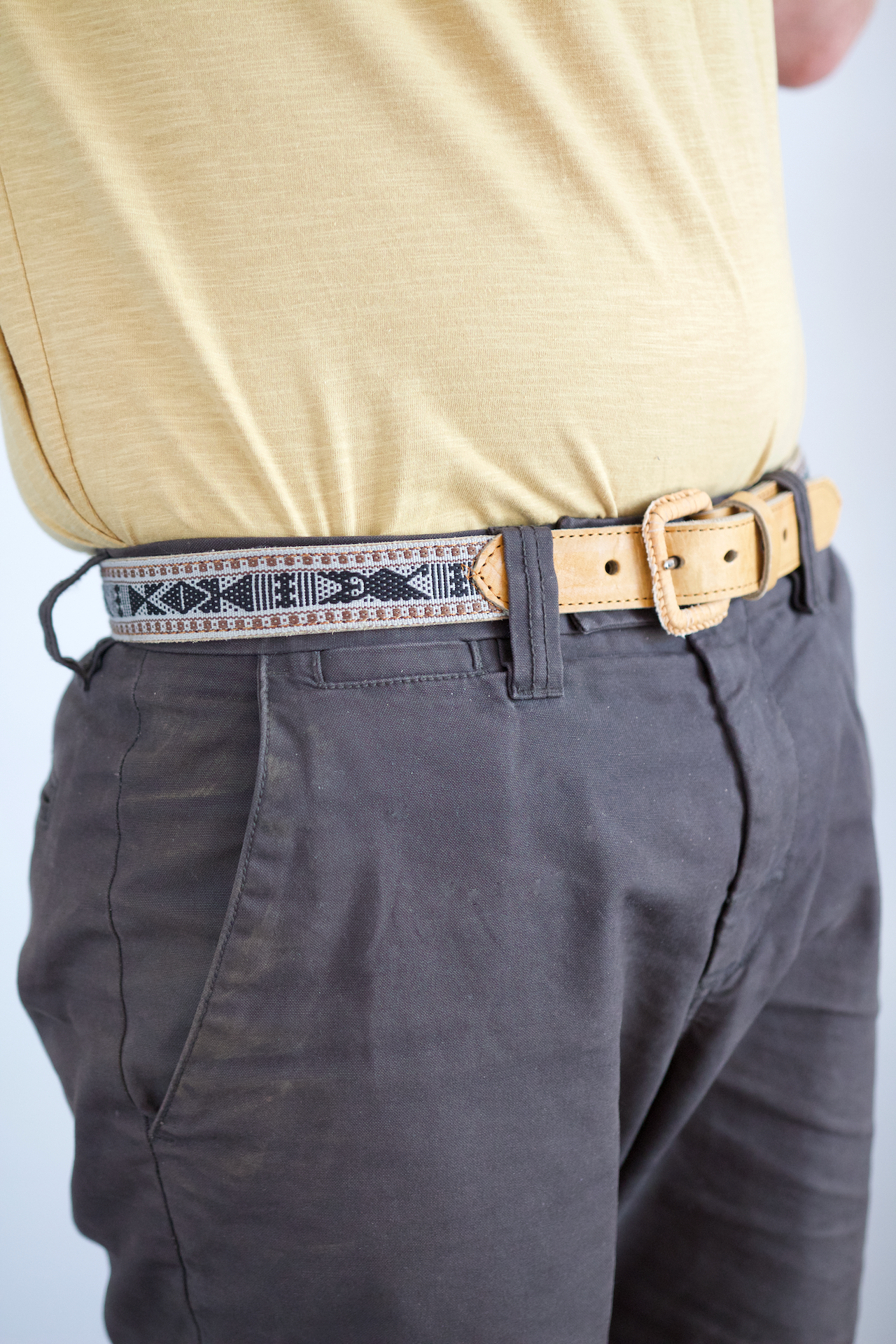 Santo Tomas Belt - Size 34 - Grey & Black