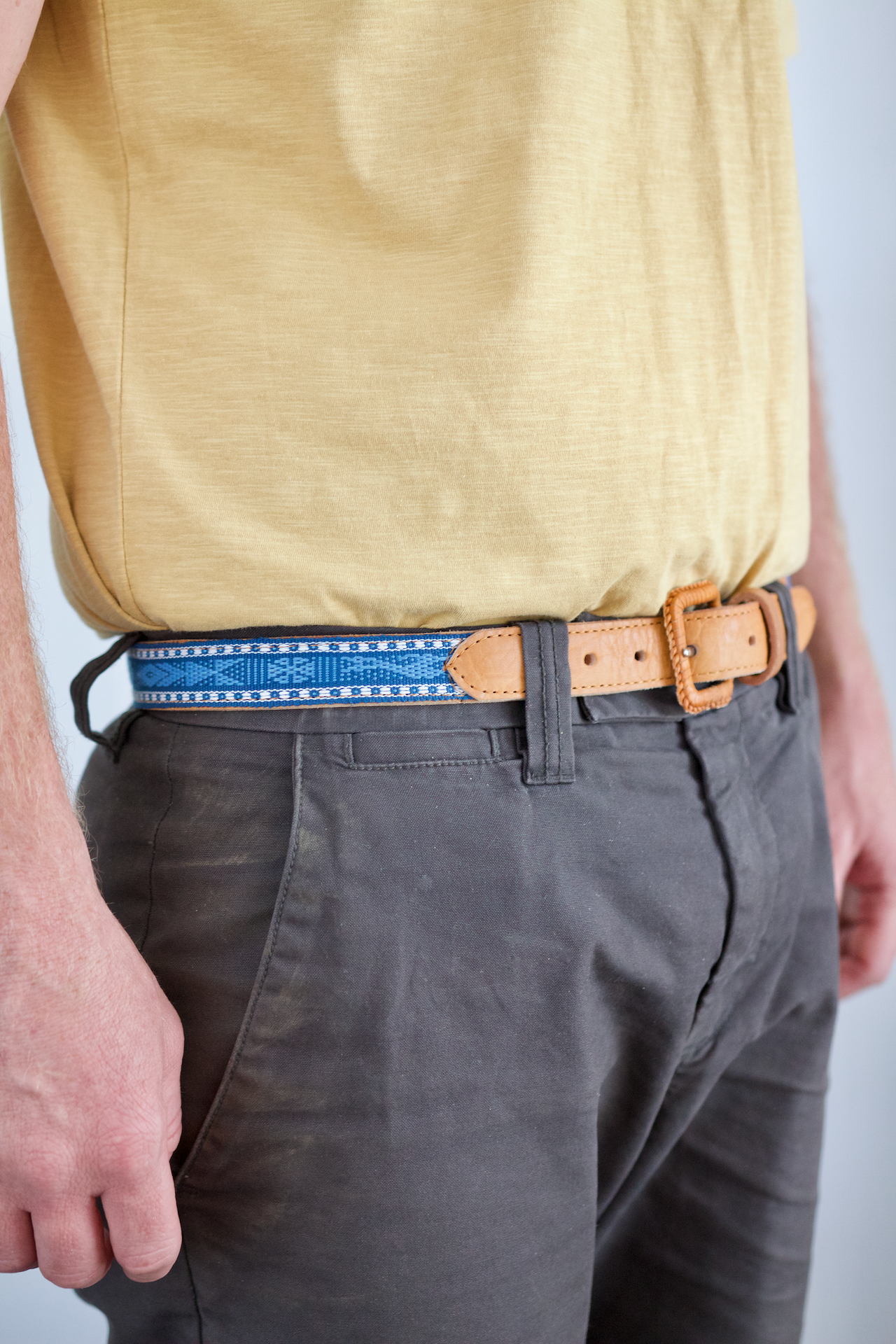 Santo Tomas Belt - Size 34 - Light Blue