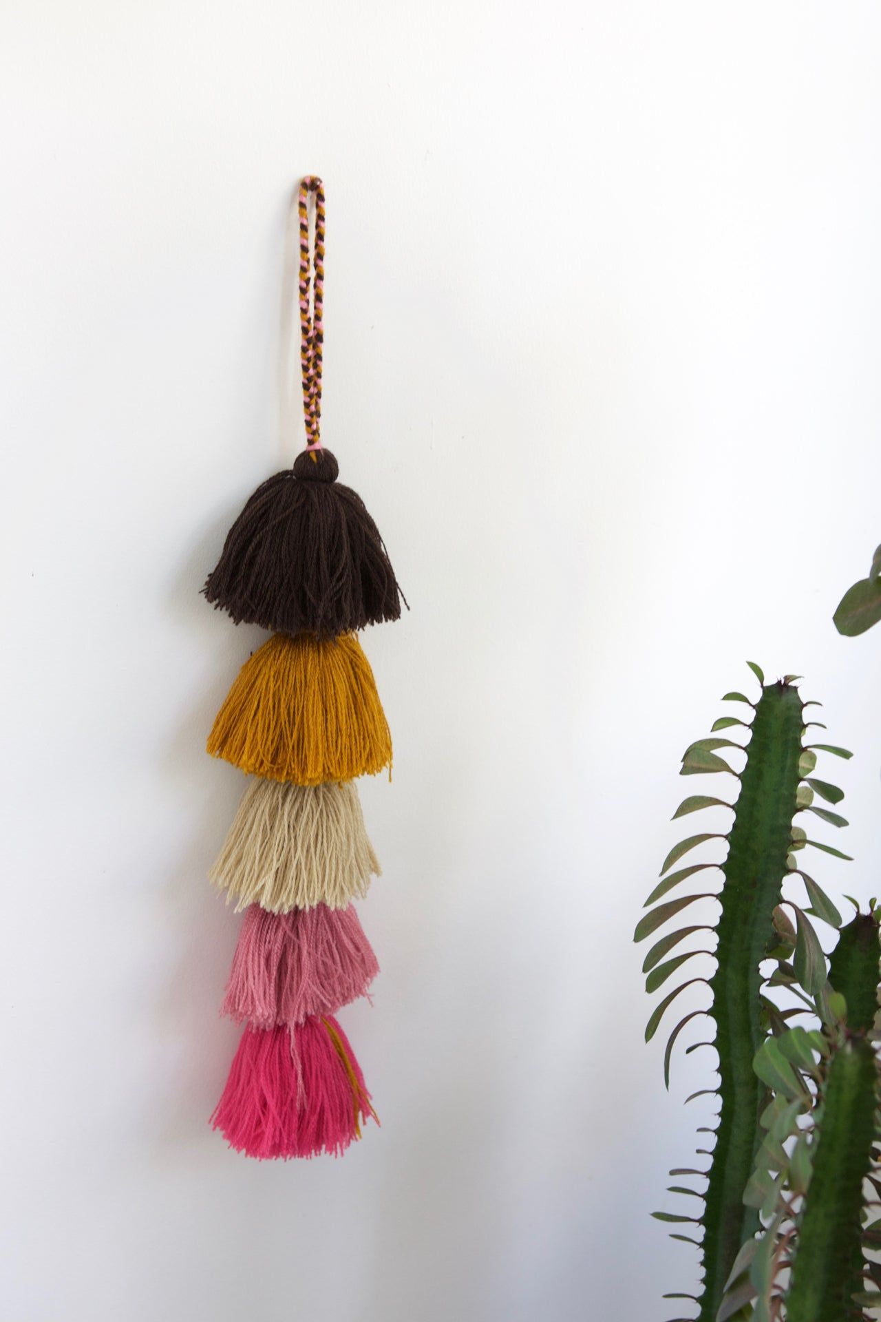 Tassel Strand 03  Decor Natural - Cielo Collective handmade Mexico Guatemala