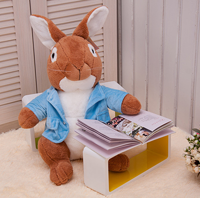 Plush Toys Peter Rabbit Bunny Soft Rabbit Toys for Kids