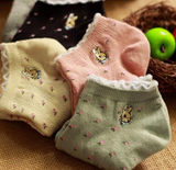 5 pairs Cute Women Peter Rabbit  Ankle Socks
