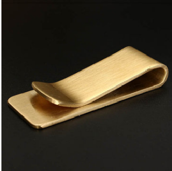 Brass Wallet Metal Clip Male/Lady Note Holder