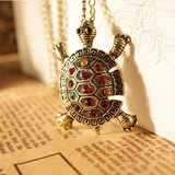 FREE Shipping Fashion Turtle Pendant Necklace Jewelry For Women