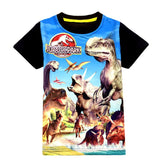 New 3-9YRS Summer Children's Tee Dinosaur Jurassic World Boys T-Shirts