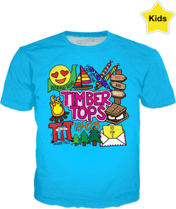 Timber Tops Kids T-Shirt