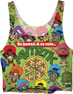 MVTRTK PIZZA Crop Top