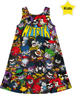 MVTRTK BATMANFAMILY Kids Dress