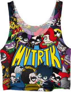 MVTRTK BATMANFAMILY Crop Top