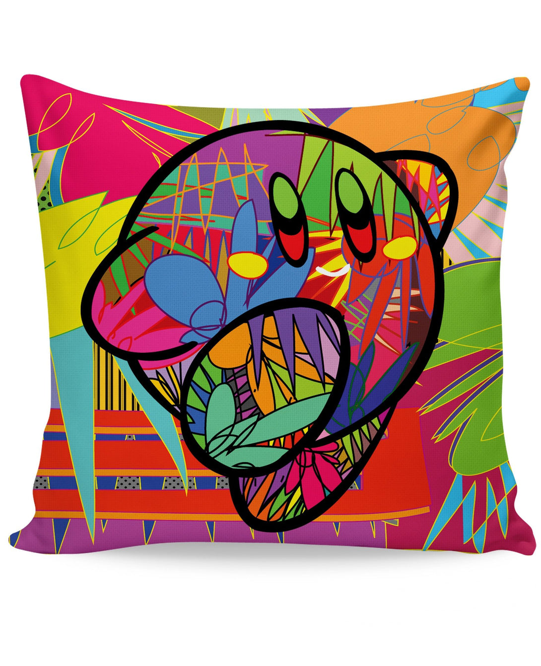 Dashing Away Couch Pillow
