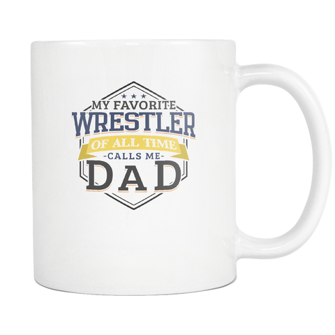 bcf6d0123 Wrestling Dad Coffee Mug Funny Father's Day Wrestler Gifts Lover - 11o –  Vivi Lane Collections