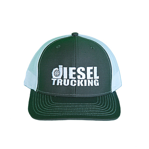Charcoal Grey / White Hat