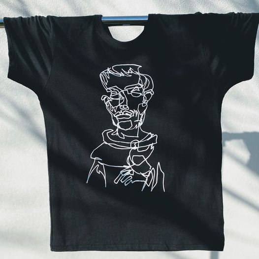 """SAINT FRANCIS "" unisex short sleeve"
