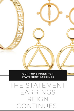 Our top 5 statement earring to keep you looking dope all summer long!