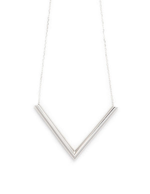 Union Necklace Silver