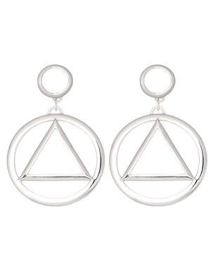 Florence Earrings Silver