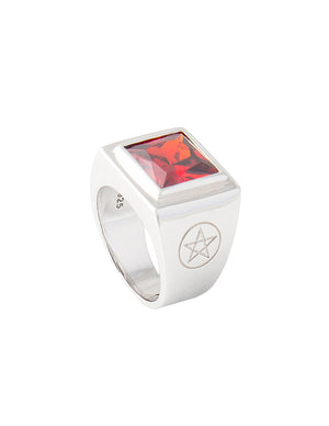 Percy Ring Red