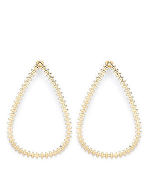 De Carl Earrings Gold